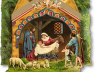 Dome Miniature Nativity 1 Amp 2 Collection Papermodelkiosk Com